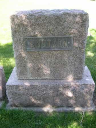 KNUTZEN, FAMILY - Dawes County, Nebraska | FAMILY KNUTZEN - Nebraska Gravestone Photos