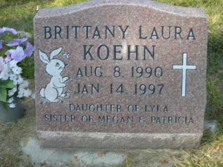 KOEHN, BRITTANY LAURA - Dawes County, Nebraska | BRITTANY LAURA KOEHN - Nebraska Gravestone Photos
