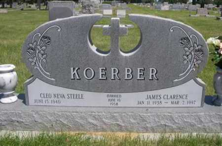 KOERBER, JAMES CLARENCE - Dawes County, Nebraska | JAMES CLARENCE KOERBER - Nebraska Gravestone Photos