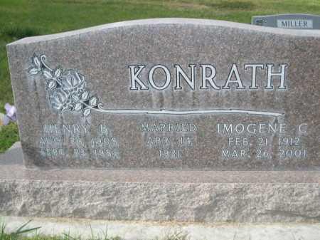 KONRATH, IMOGENE C. - Dawes County, Nebraska | IMOGENE C. KONRATH - Nebraska Gravestone Photos