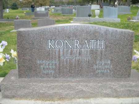 KONRATH, HENRY B - Dawes County, Nebraska | HENRY B KONRATH - Nebraska Gravestone Photos