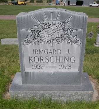 KORSCHING, IRMGARD J. - Dawes County, Nebraska | IRMGARD J. KORSCHING - Nebraska Gravestone Photos