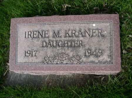 KRANER, IRENE M. - Dawes County, Nebraska | IRENE M. KRANER - Nebraska Gravestone Photos