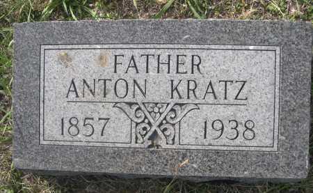 KRATZ, ANTON - Dawes County, Nebraska | ANTON KRATZ - Nebraska Gravestone Photos