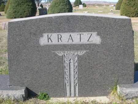 KRATZ, FAMILY - Dawes County, Nebraska   FAMILY KRATZ - Nebraska Gravestone Photos