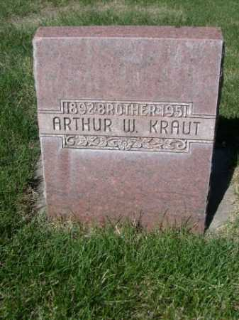 KRAUT, ARTHUR W. - Dawes County, Nebraska | ARTHUR W. KRAUT - Nebraska Gravestone Photos