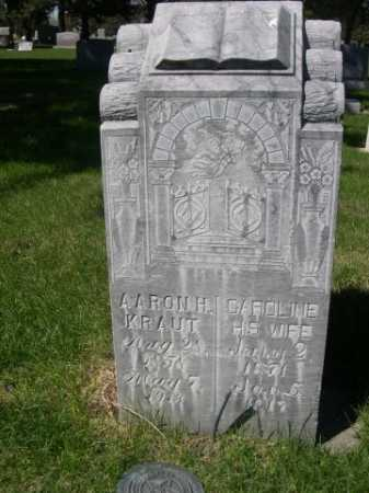 KRAUT, CAROLINE - Dawes County, Nebraska   CAROLINE KRAUT - Nebraska Gravestone Photos