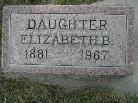 KREIZENBECK, ELIZABETH B. - Dawes County, Nebraska | ELIZABETH B. KREIZENBECK - Nebraska Gravestone Photos