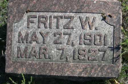 KREMAN, FRITZ W. - Dawes County, Nebraska   FRITZ W. KREMAN - Nebraska Gravestone Photos
