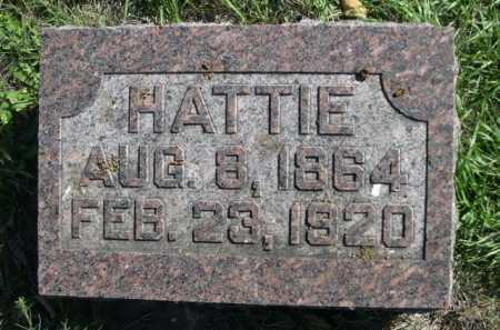 KREMAN, HATTIE - Dawes County, Nebraska | HATTIE KREMAN - Nebraska Gravestone Photos