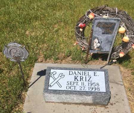 KRIZ, DANIEL - Dawes County, Nebraska   DANIEL KRIZ - Nebraska Gravestone Photos