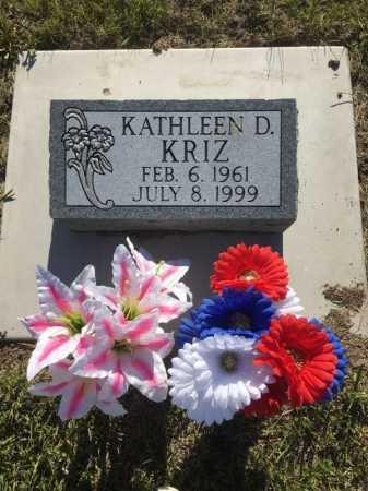 KRIZ, KATHLEEN DENISE - Dawes County, Nebraska | KATHLEEN DENISE KRIZ - Nebraska Gravestone Photos