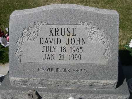 KRUSE, DAVID JOHN - Dawes County, Nebraska | DAVID JOHN KRUSE - Nebraska Gravestone Photos