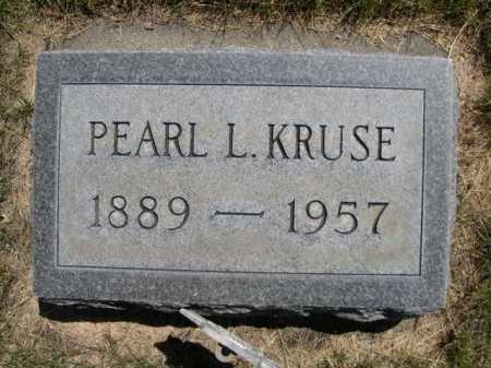 KRUSE, PEARL L. - Dawes County, Nebraska | PEARL L. KRUSE - Nebraska Gravestone Photos