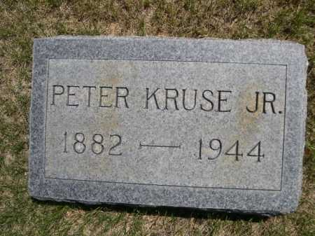 KRUSE, PETER JR. - Dawes County, Nebraska | PETER JR. KRUSE - Nebraska Gravestone Photos