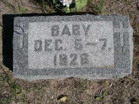 KUHNEL, BABY - Dawes County, Nebraska | BABY KUHNEL - Nebraska Gravestone Photos