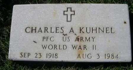 KUHNEL, CHARLES A. - Dawes County, Nebraska | CHARLES A. KUHNEL - Nebraska Gravestone Photos