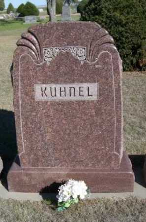 KUHNEL, FAMILY - Dawes County, Nebraska | FAMILY KUHNEL - Nebraska Gravestone Photos