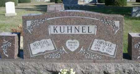KUHNEL, MARTHA - Dawes County, Nebraska | MARTHA KUHNEL - Nebraska Gravestone Photos