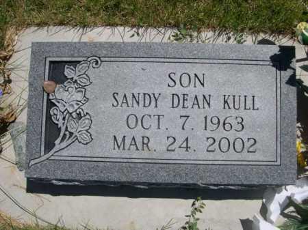 KULL, SANDY DEAN - Dawes County, Nebraska | SANDY DEAN KULL - Nebraska Gravestone Photos