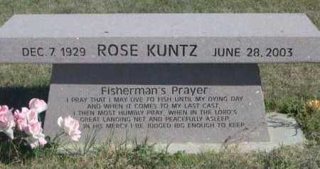 KUNTZ, ROSE - Dawes County, Nebraska | ROSE KUNTZ - Nebraska Gravestone Photos