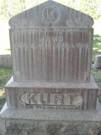KURT, JOHN - Dawes County, Nebraska | JOHN KURT - Nebraska Gravestone Photos