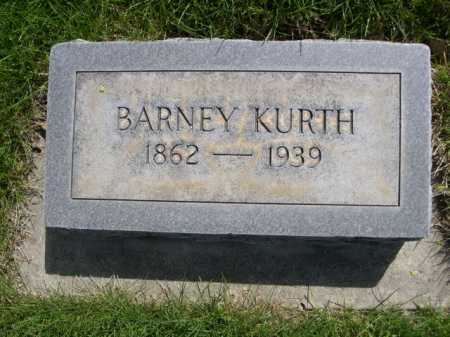 KURTH, BARNEY - Dawes County, Nebraska | BARNEY KURTH - Nebraska Gravestone Photos