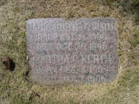 KURTH, MARGARETHA C. - Dawes County, Nebraska | MARGARETHA C. KURTH - Nebraska Gravestone Photos