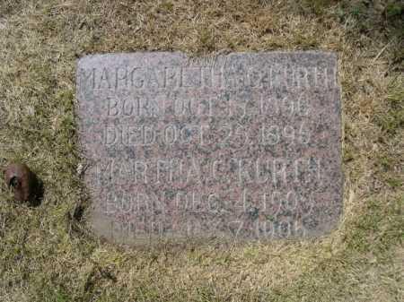 KURTH, MARTHA C. - Dawes County, Nebraska | MARTHA C. KURTH - Nebraska Gravestone Photos