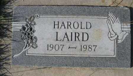 LAIRD, HAROLD - Dawes County, Nebraska | HAROLD LAIRD - Nebraska Gravestone Photos