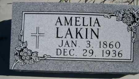 LAKIN, AMELIA - Dawes County, Nebraska | AMELIA LAKIN - Nebraska Gravestone Photos