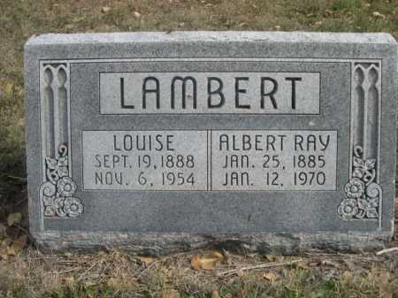 LAMBERT, ALBERT RAY - Dawes County, Nebraska | ALBERT RAY LAMBERT - Nebraska Gravestone Photos