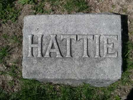 LANDON, HATTIE - Dawes County, Nebraska | HATTIE LANDON - Nebraska Gravestone Photos