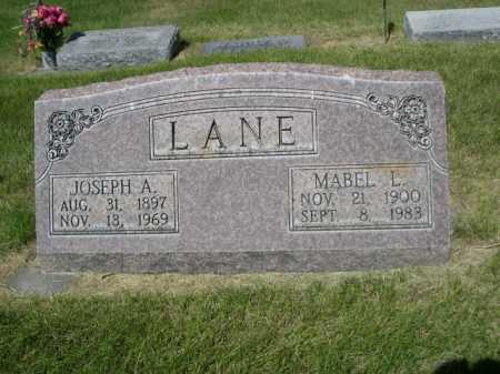 LANE, MABEL L. - Dawes County, Nebraska | MABEL L. LANE - Nebraska Gravestone Photos