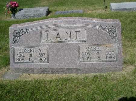 LANE, JOSEPH A. - Dawes County, Nebraska | JOSEPH A. LANE - Nebraska Gravestone Photos