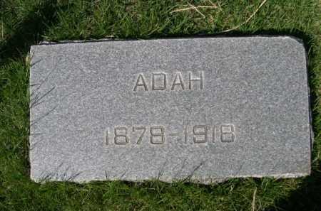 LANEY, ADAH - Dawes County, Nebraska | ADAH LANEY - Nebraska Gravestone Photos