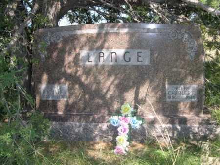 LANGE, CHARLES F. - Dawes County, Nebraska | CHARLES F. LANGE - Nebraska Gravestone Photos