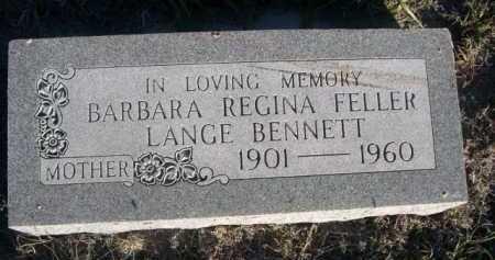 BENNETT, BARBARA REGINA - Dawes County, Nebraska | BARBARA REGINA BENNETT - Nebraska Gravestone Photos
