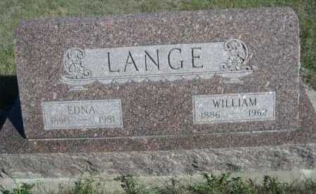 LANGE, EDNA - Dawes County, Nebraska | EDNA LANGE - Nebraska Gravestone Photos