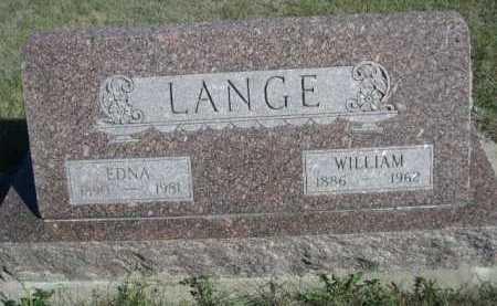 LANGE, WILLIAM - Dawes County, Nebraska | WILLIAM LANGE - Nebraska Gravestone Photos