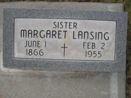 LANSING, MARGARET - Dawes County, Nebraska | MARGARET LANSING - Nebraska Gravestone Photos
