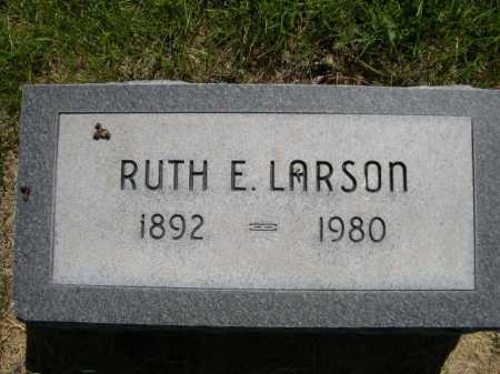 LARSON, RUTH E. - Dawes County, Nebraska   RUTH E. LARSON - Nebraska Gravestone Photos