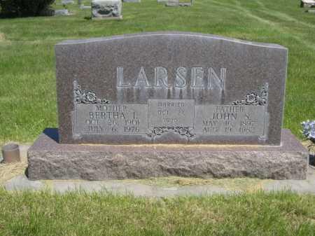 LARSEN, JOHN S. - Dawes County, Nebraska   JOHN S. LARSEN - Nebraska Gravestone Photos