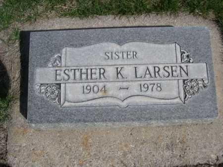 LARSEN, ESTHER - Dawes County, Nebraska | ESTHER LARSEN - Nebraska Gravestone Photos