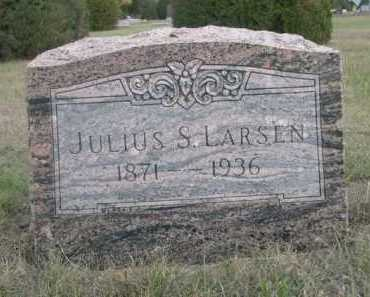 LARSEN, JULIUS - Dawes County, Nebraska | JULIUS LARSEN - Nebraska Gravestone Photos