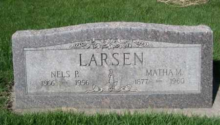 LARSEN, NELS P. - Dawes County, Nebraska | NELS P. LARSEN - Nebraska Gravestone Photos