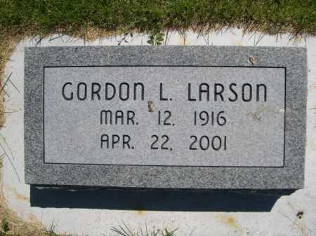 LARSON, GORDON L. - Dawes County, Nebraska | GORDON L. LARSON - Nebraska Gravestone Photos