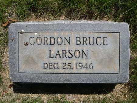 LARSON, GORDON BRUCE - Dawes County, Nebraska | GORDON BRUCE LARSON - Nebraska Gravestone Photos