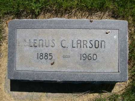 LARSON, LENUS C. - Dawes County, Nebraska | LENUS C. LARSON - Nebraska Gravestone Photos