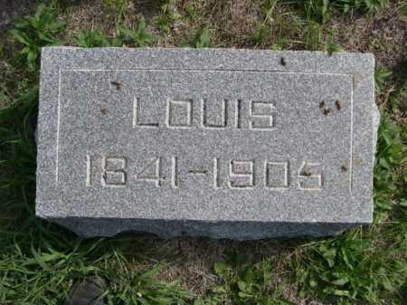LARSON, LOUIS - Dawes County, Nebraska | LOUIS LARSON - Nebraska Gravestone Photos